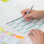 use a calendar to improve and change website content | Three65 Marketing restoration and construction company marketing company in Madison Wisconsin