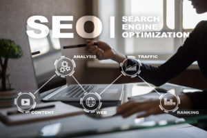Tips to improve SEO keywords for construction and restoration company websites | services by Three65 Marketing Online Marketing Madison WI